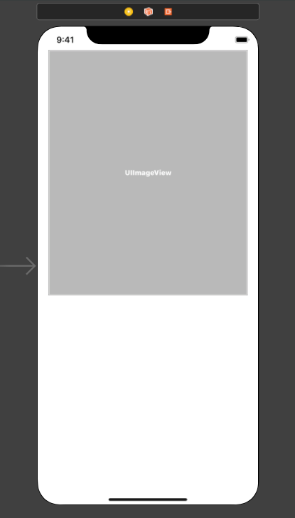 Main.Storyboard with our View and ImageView