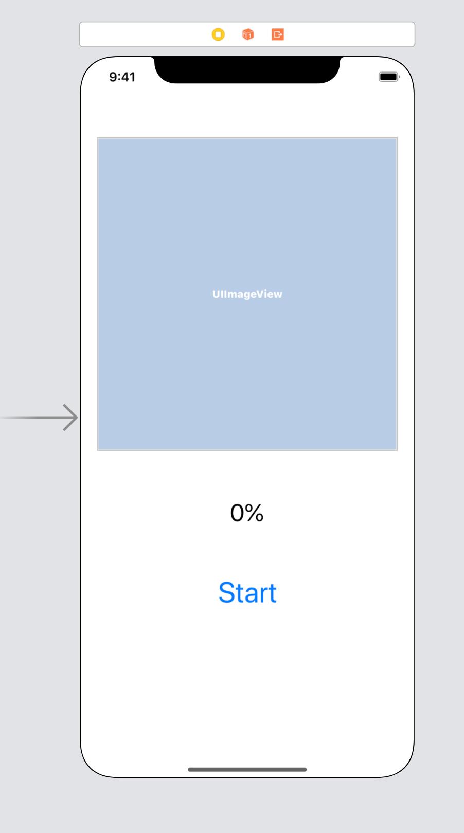 reference storyboard interface