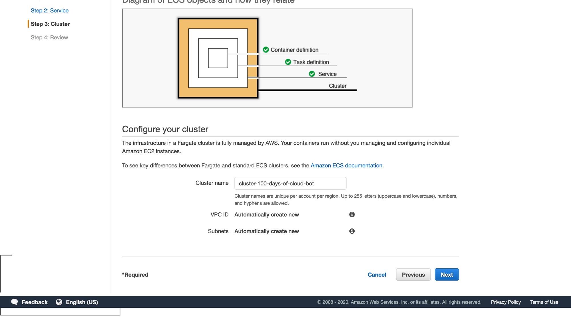 Configure your cluster