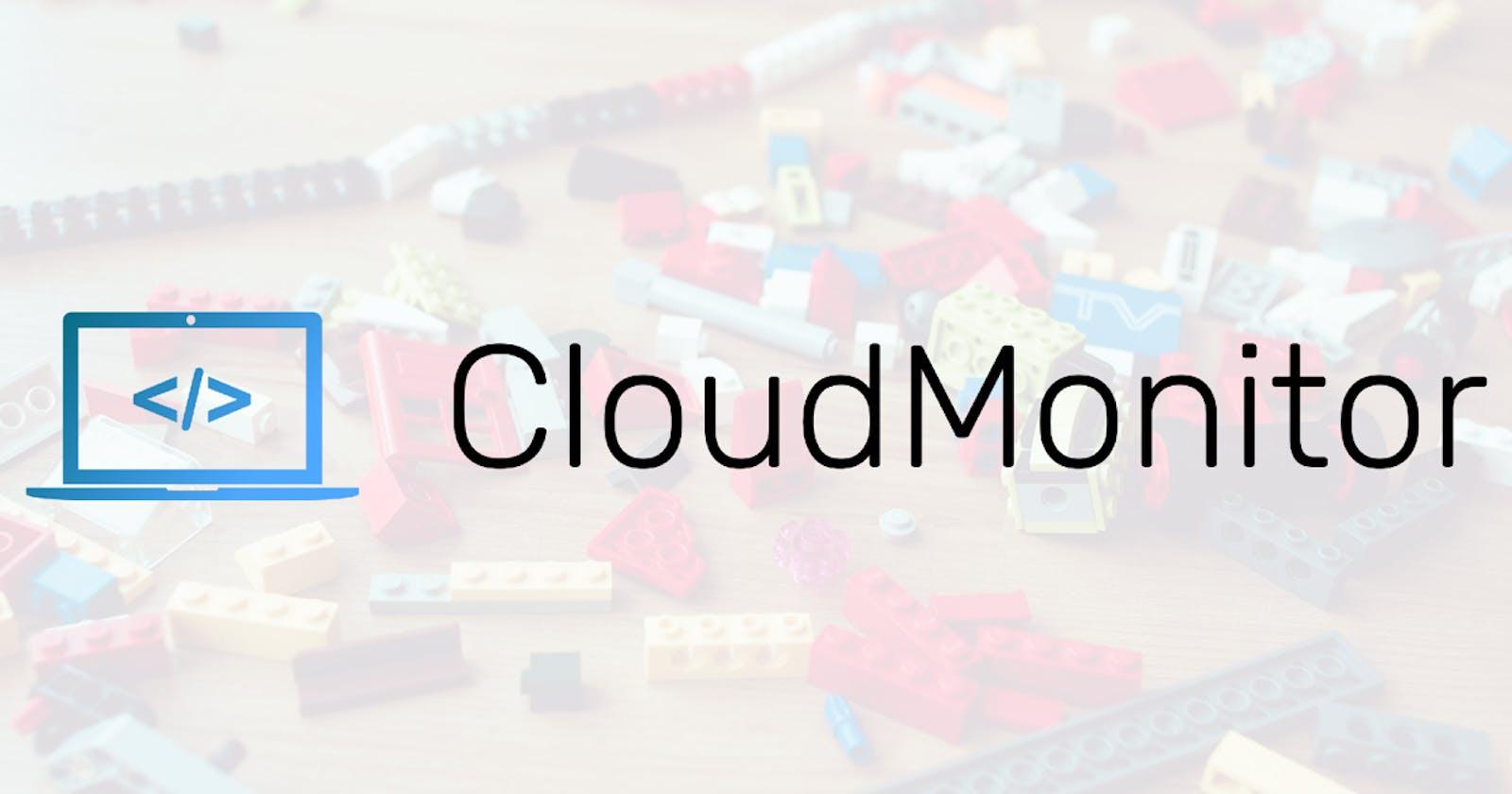 How I created CloudMonitor.dk