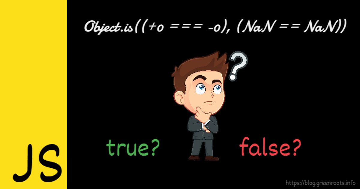 JavaScript: Equality comparison with ==, === and Object.is