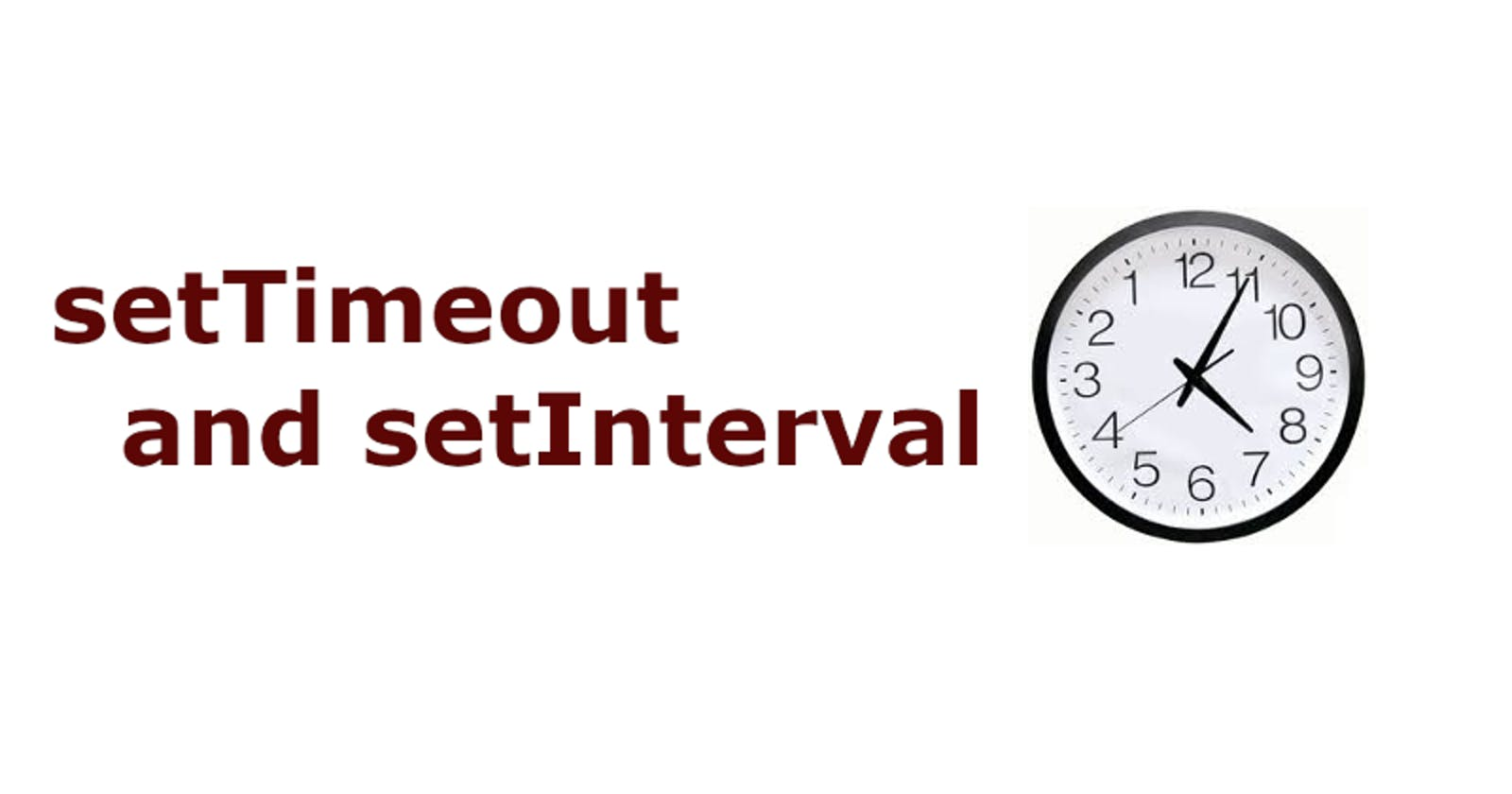 Testing setTimeout and setInterval