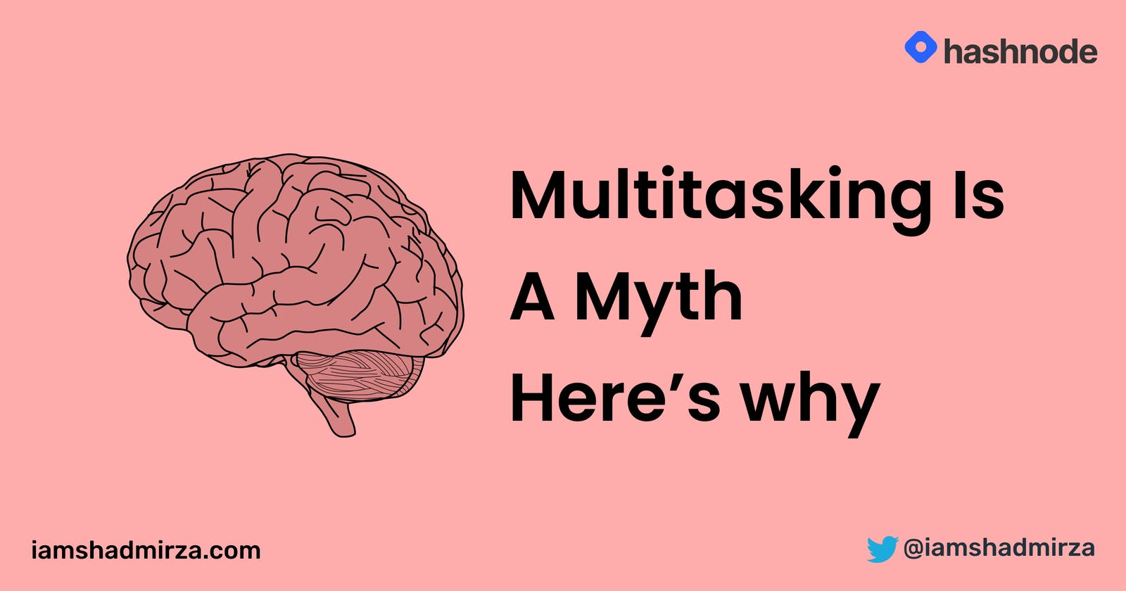 Multitasking Is A Myth. Here's why