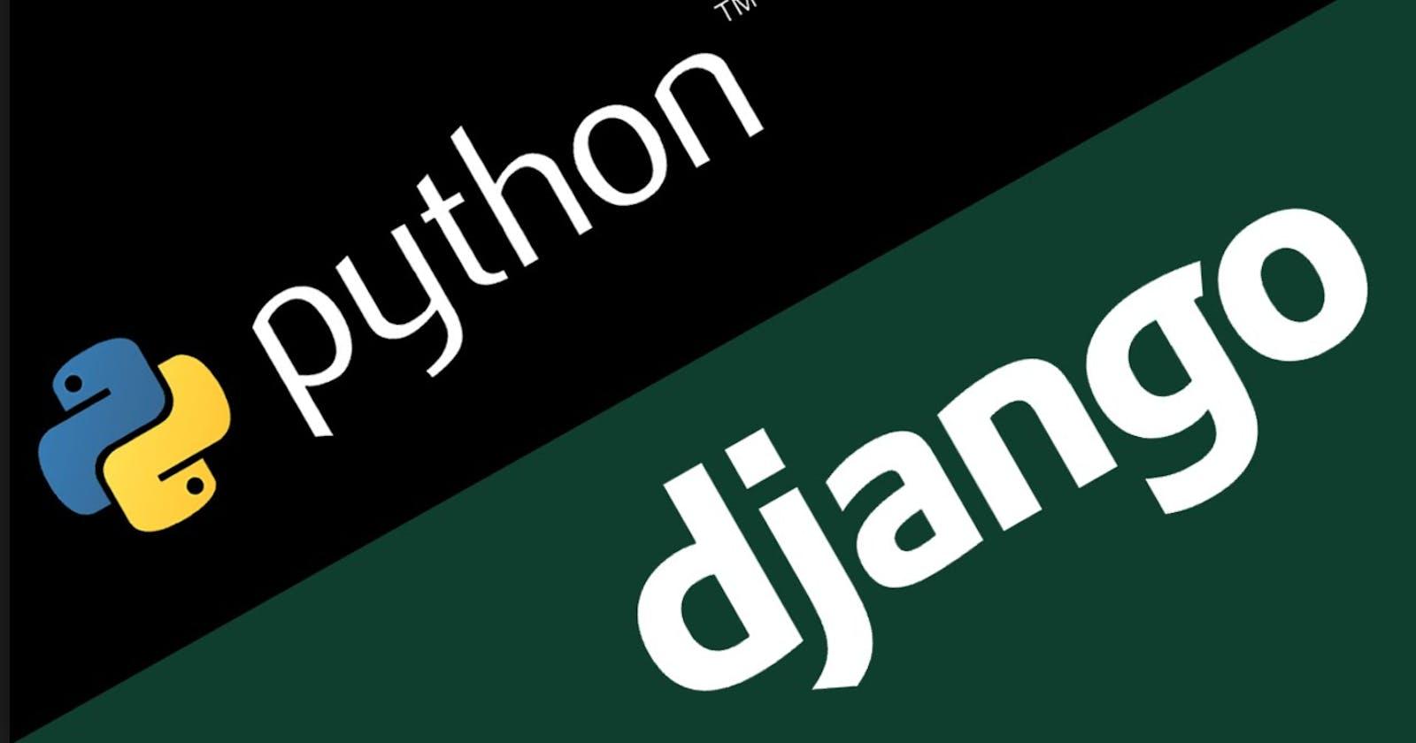 How to Configure  Django Project