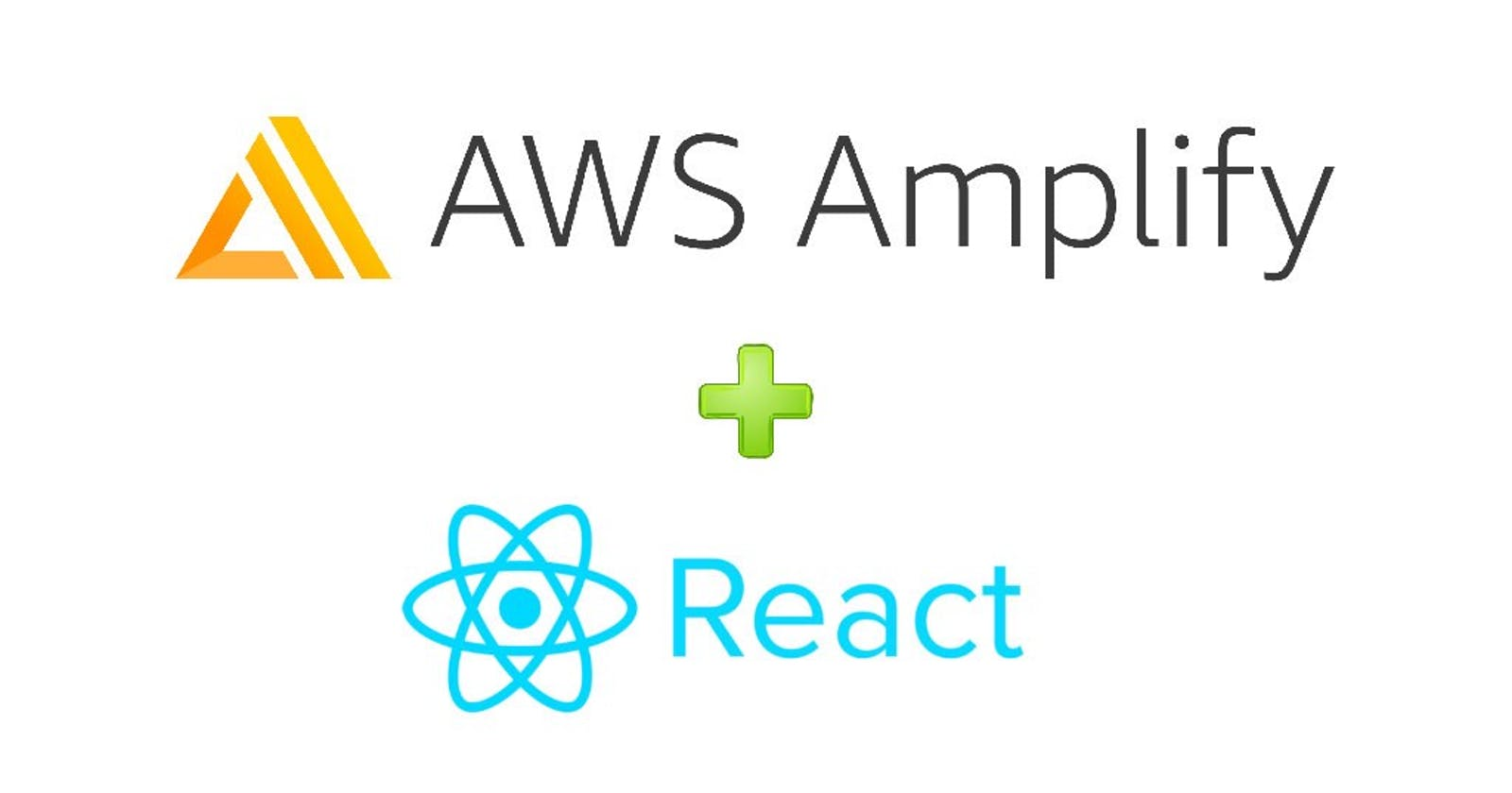 Deploying React app using AWS Amplify with CI/CD pipeline setup