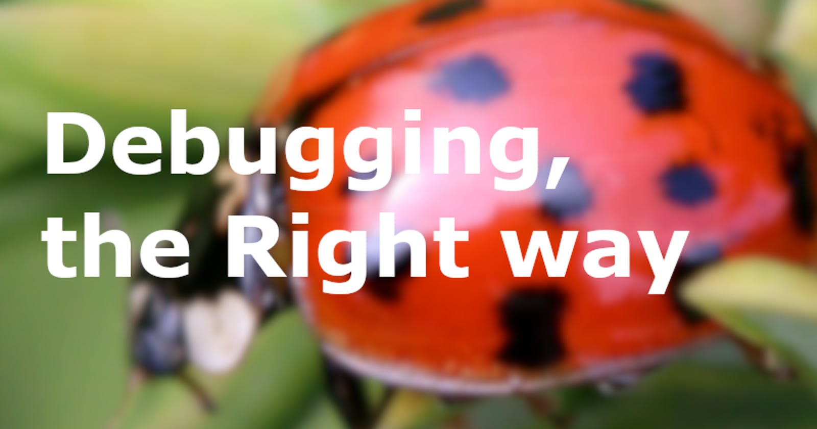 Stop Debugging Like a Caveperson
