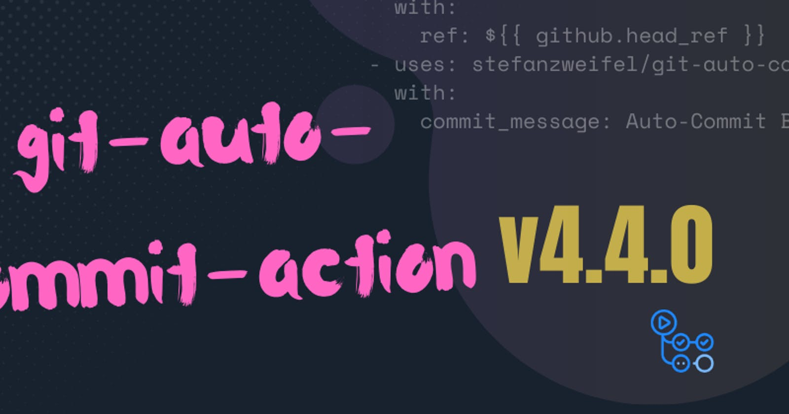 Review of the git-auto-commit-action