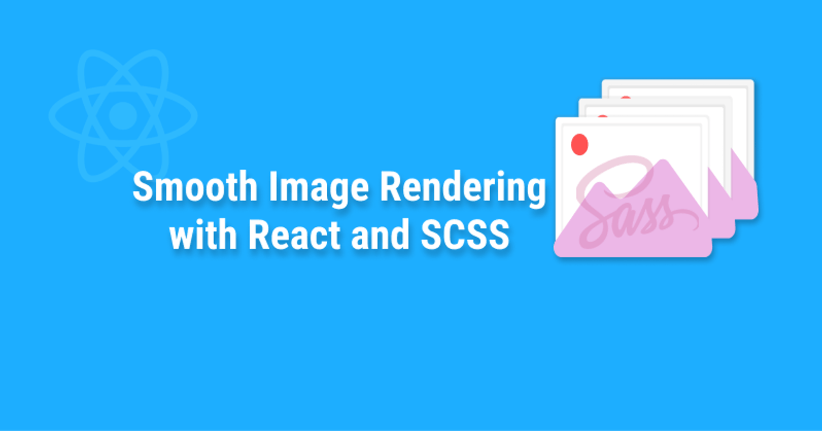 How to Smoothly Render Images in React App?