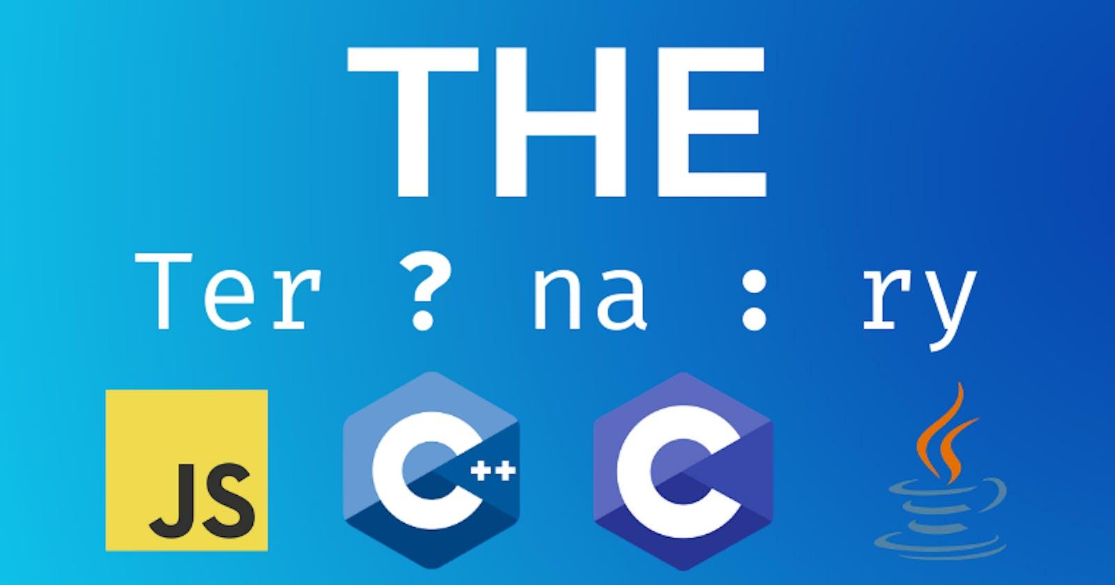 The TER ? NA : RY Operator