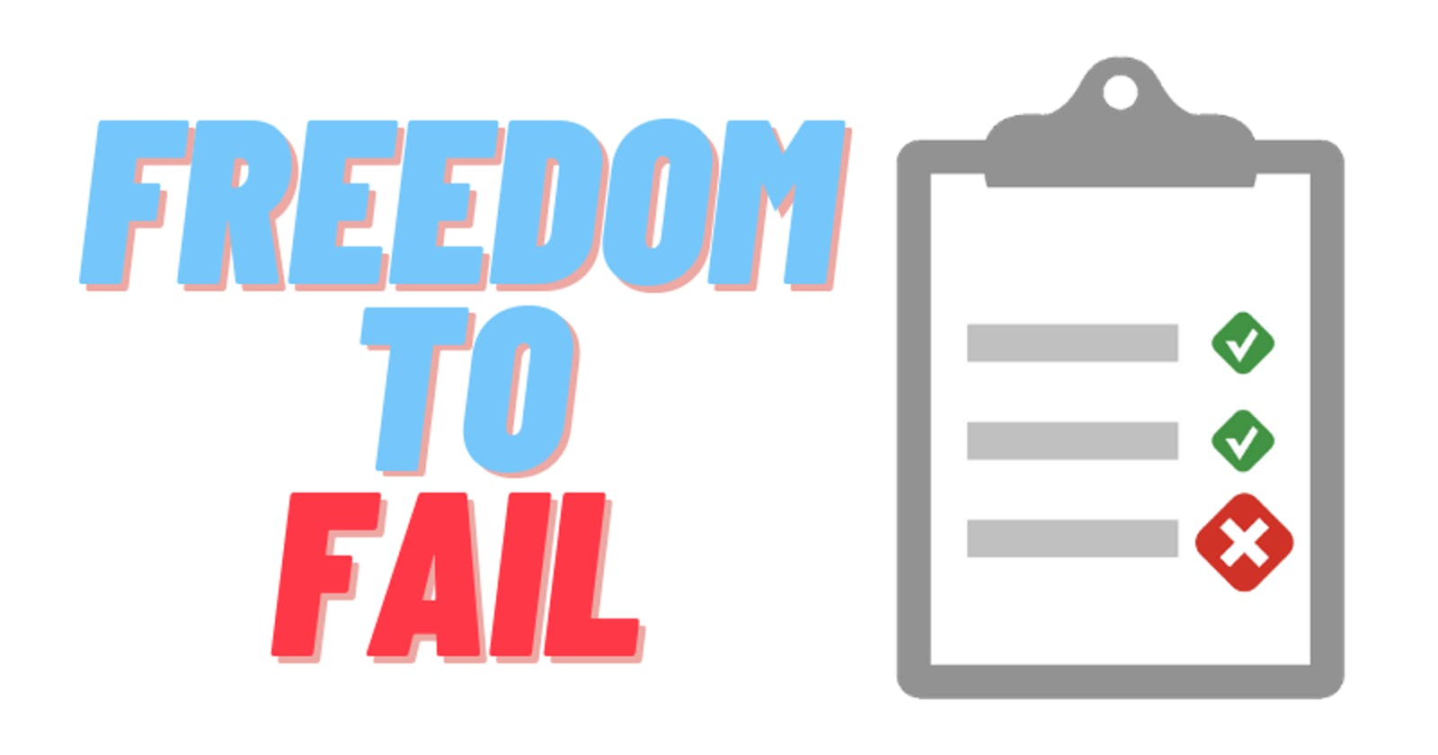 Unit Testing - The Freedom to fail ❌