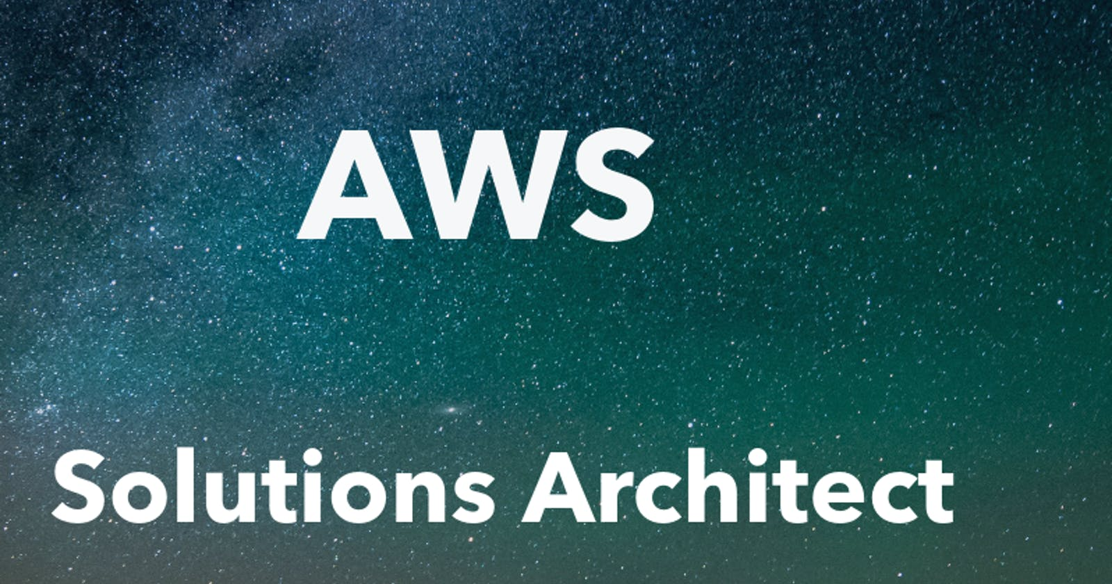 AWS Certified in 21 days - Solutions Architect