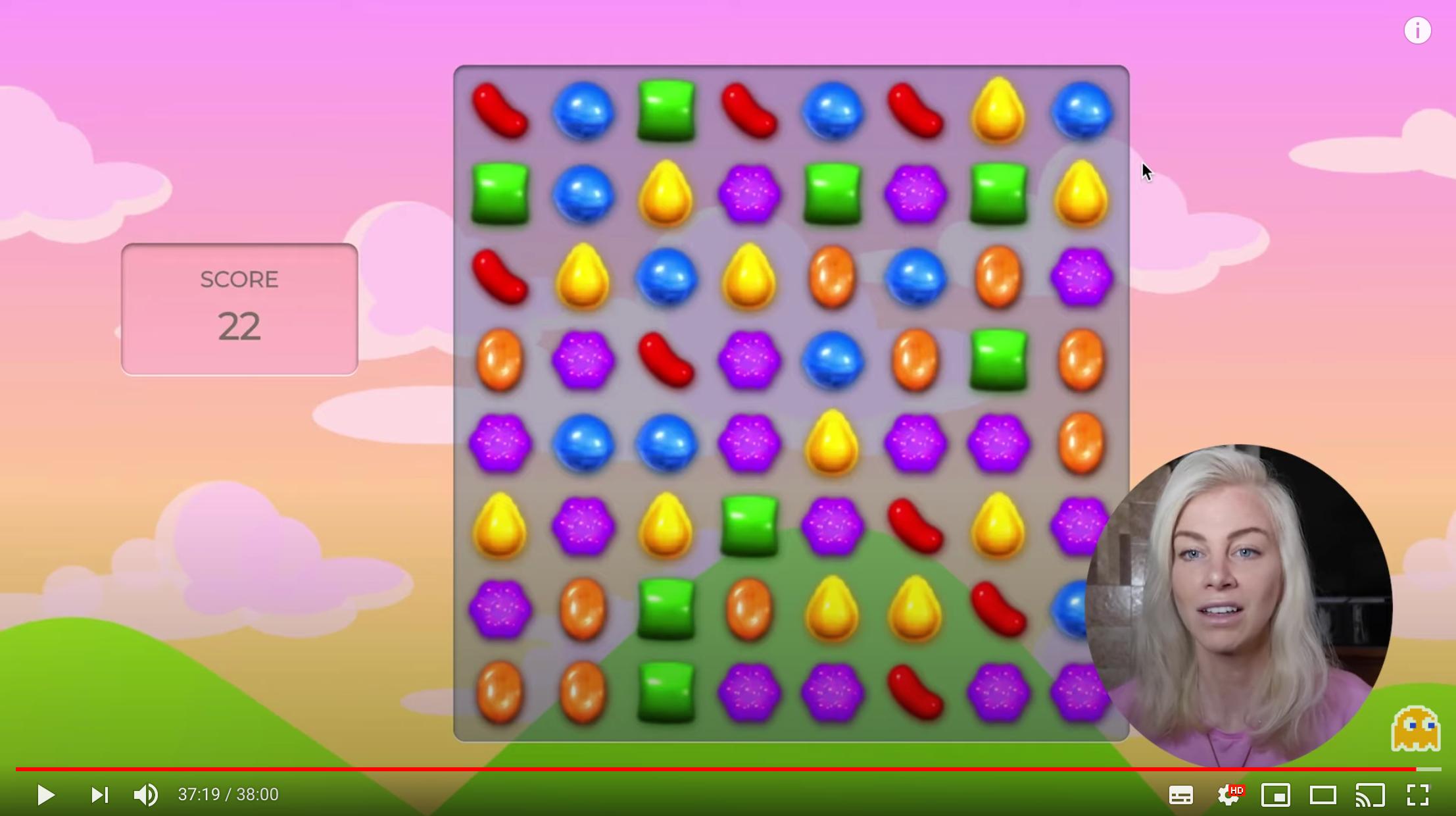 JavaScript Candy Crush clone