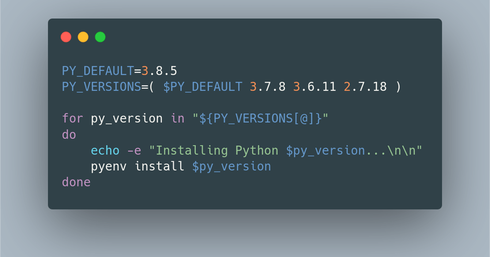 How I Set up Multiple Python Versions with pyenv on Linux