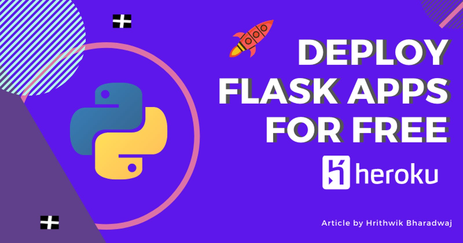 How to Deploy Flask apps for Free with Heroku