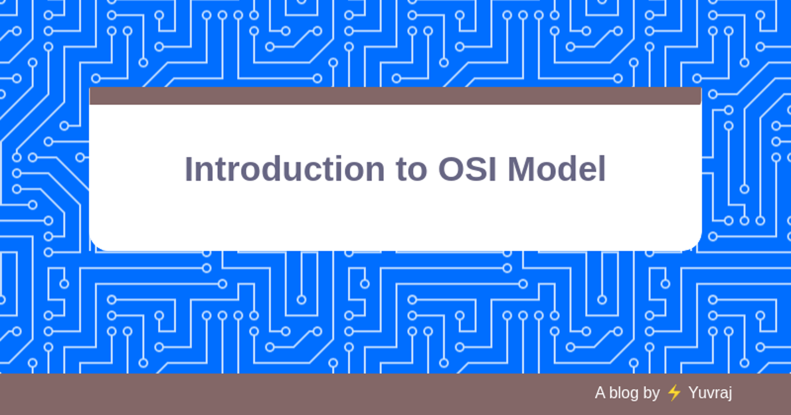Introduction to OSI Model | Networks