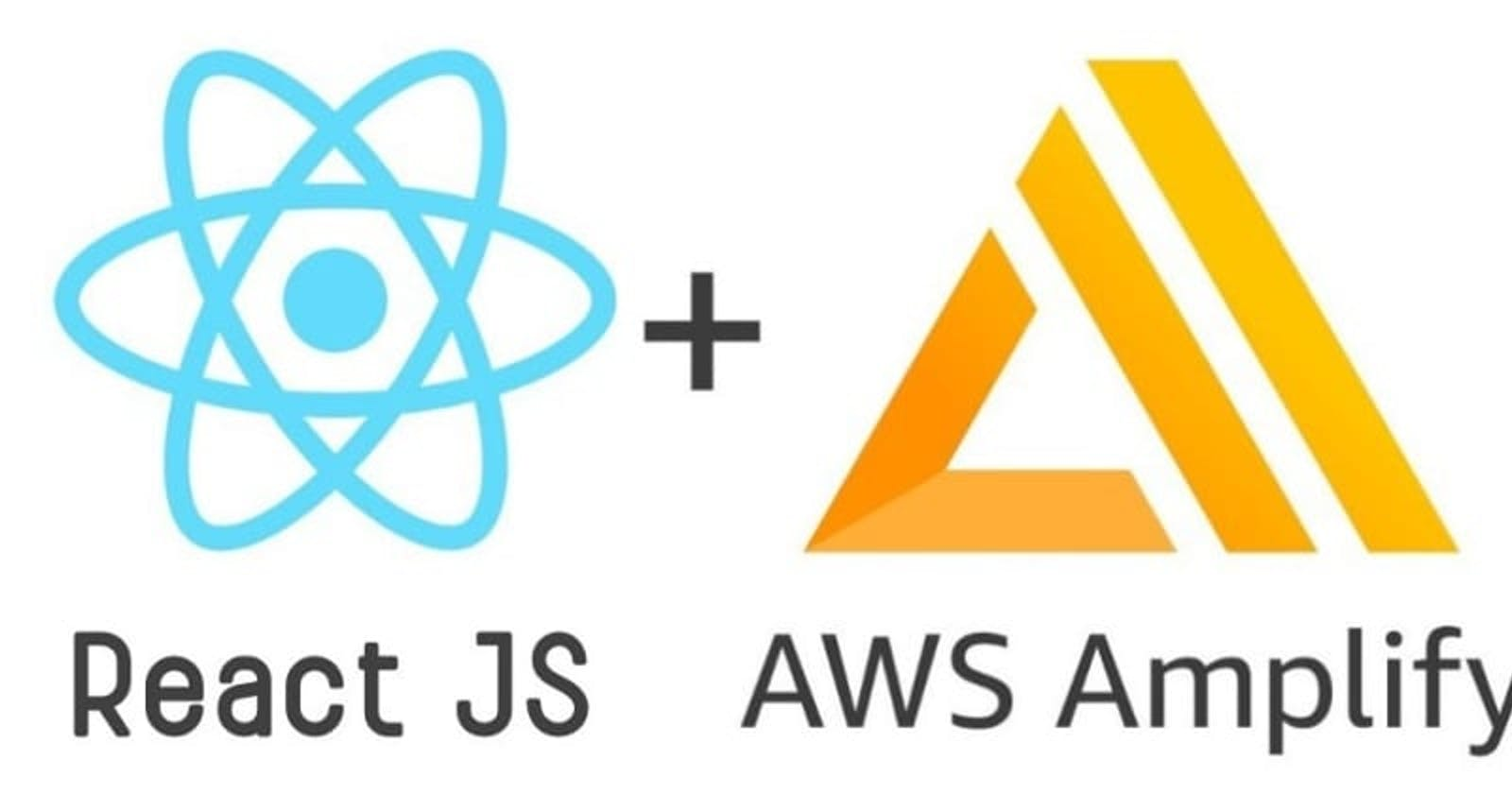 Adding authentication to React App using AWS Amplify and Cognito