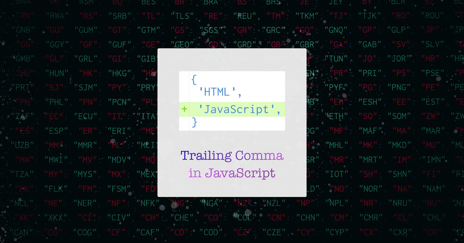 Are you using Trailing Commas in your JavaScript?