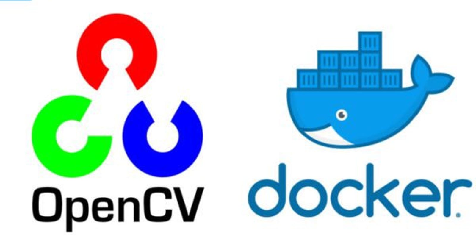Taking pictures in Docker container!