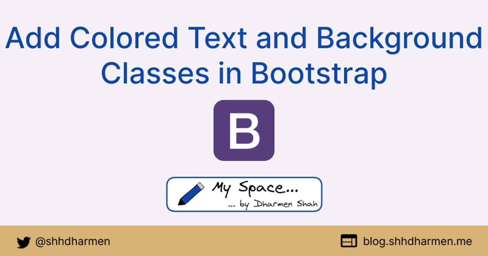 Add Colored Text and Background Classes in Bootstrap