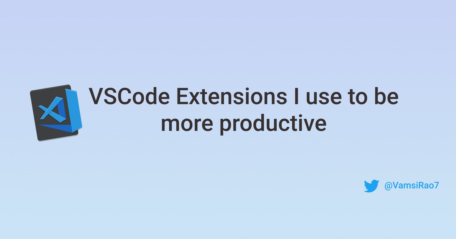VS Code extensions I use to be more productive