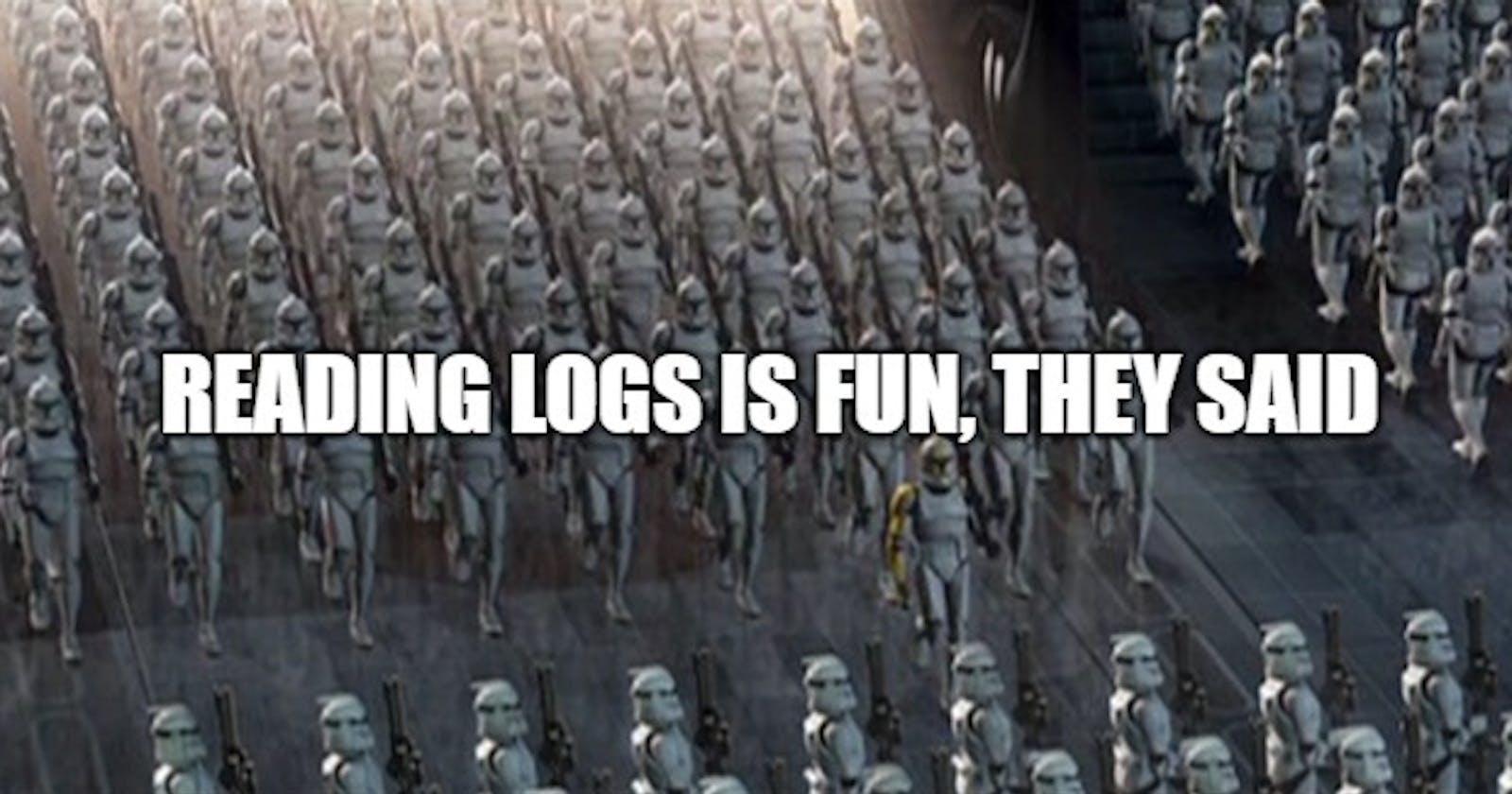 NodeJS logging made right