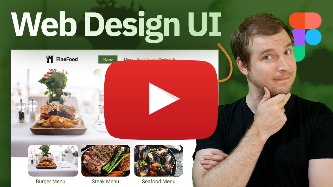 Designing a Website UI