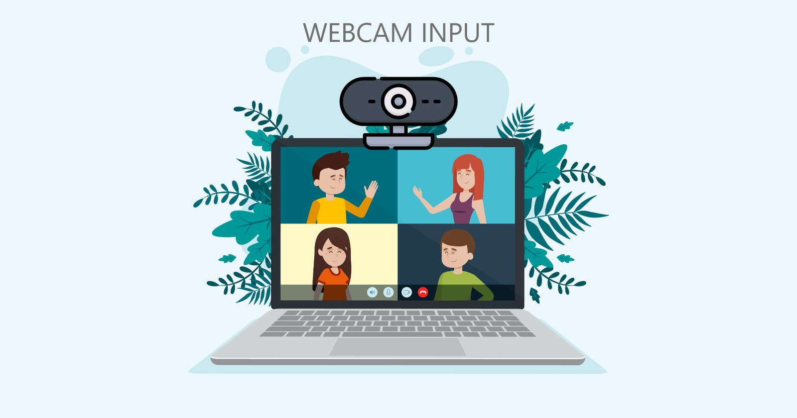 Getting Webcam input in HTML5 page