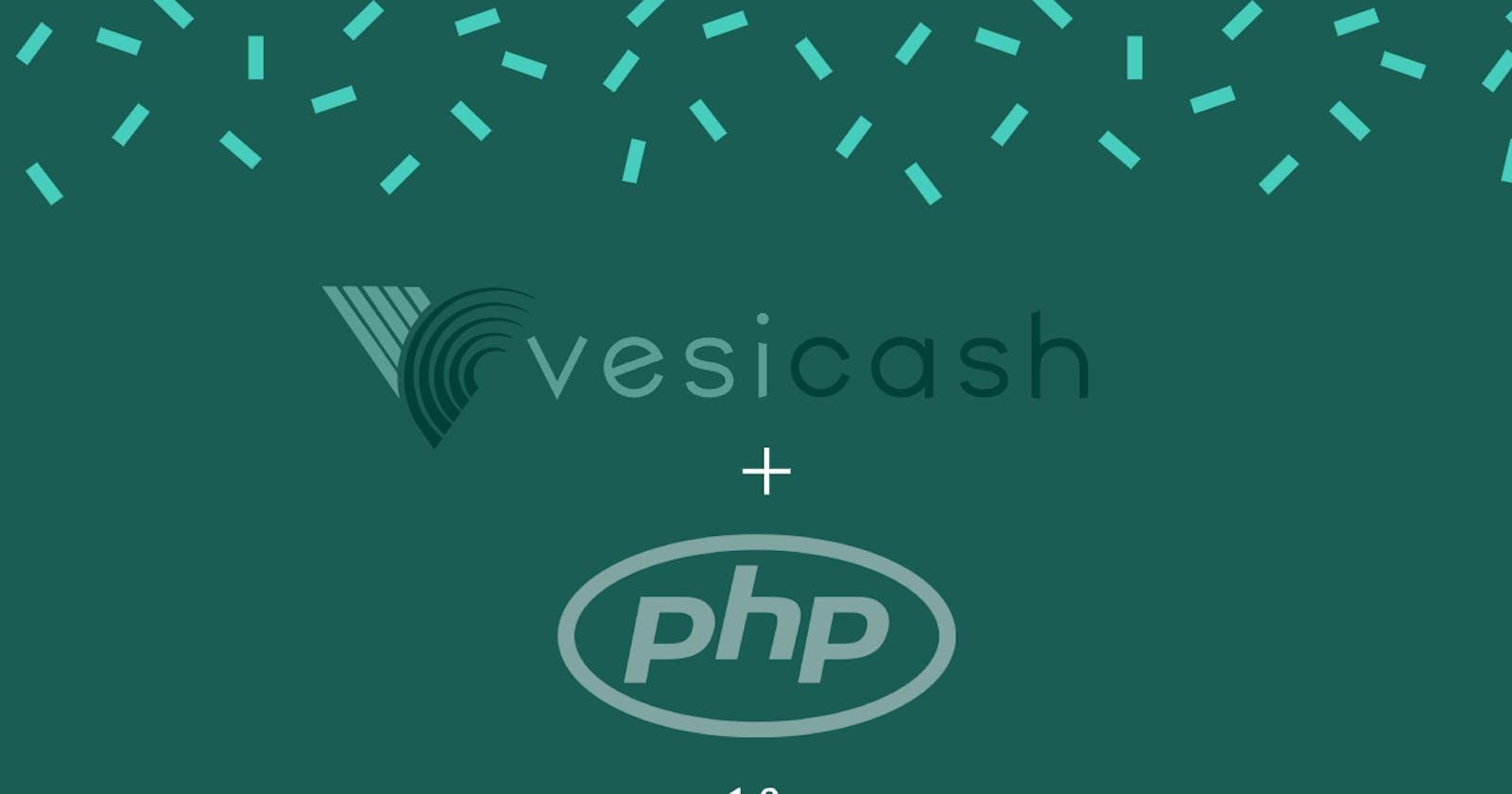 Vesicash PHP SDK v1.0 Launched 🔥