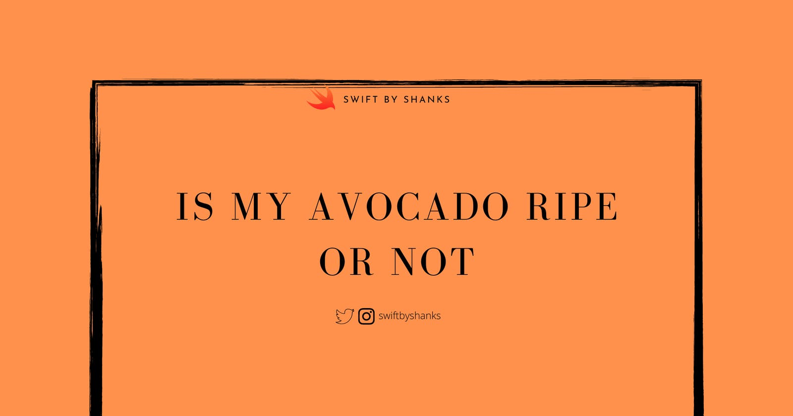 Is my avocado ripe? Let's find out with Machine Learning!