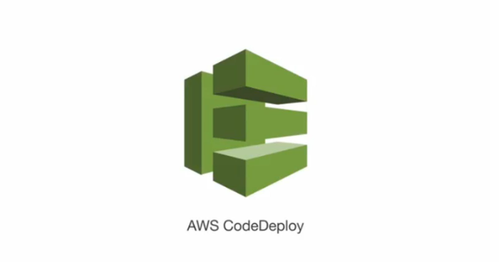 Working with AWS EC2 Autoscaling Group and AWS Codedeploy