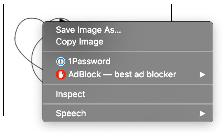 Canvas save to image right click