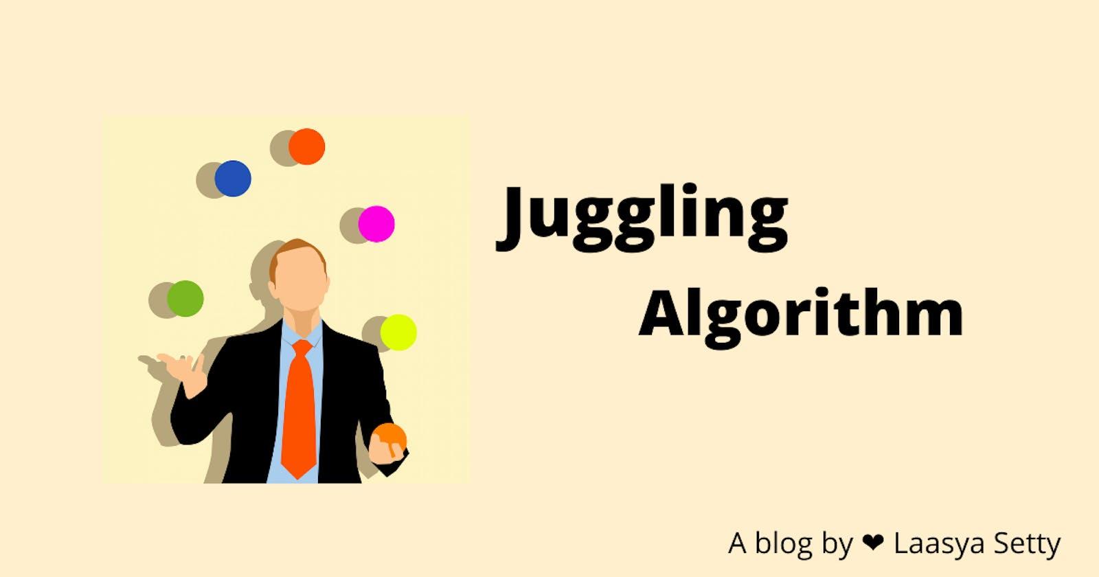 Juggling Algorithm for Array Rotation.