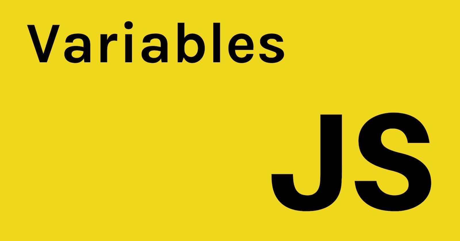 Basic JavaScript: Variables