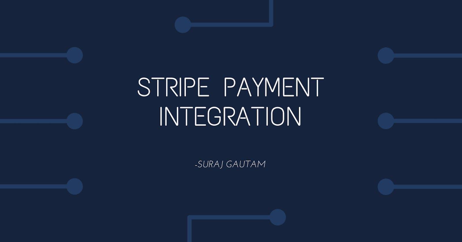 Stripe Payment Integration