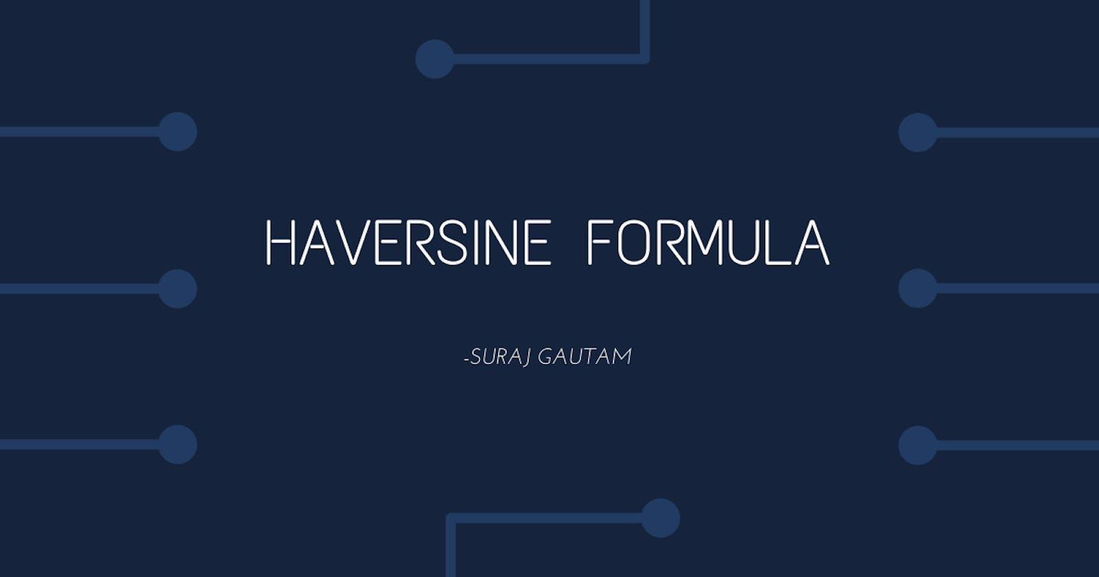 Haversine Formula for Spring Data JPA