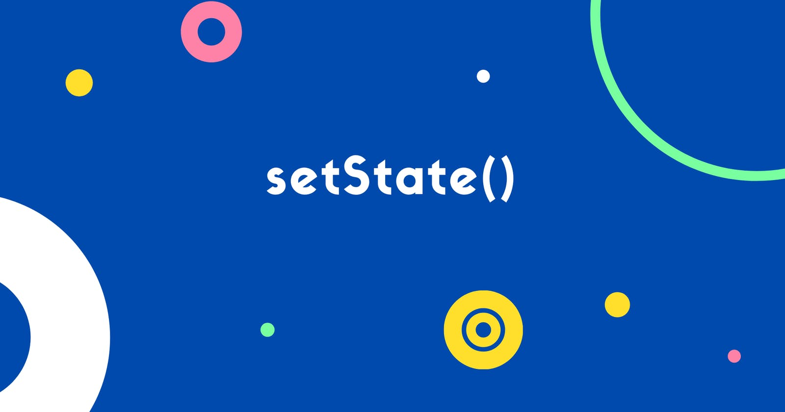 Async Nature of setState()