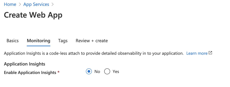 App Service Monitoring
