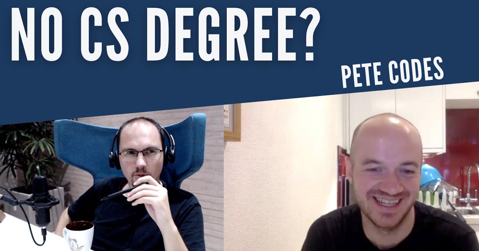 Ep#5 • No CS degree