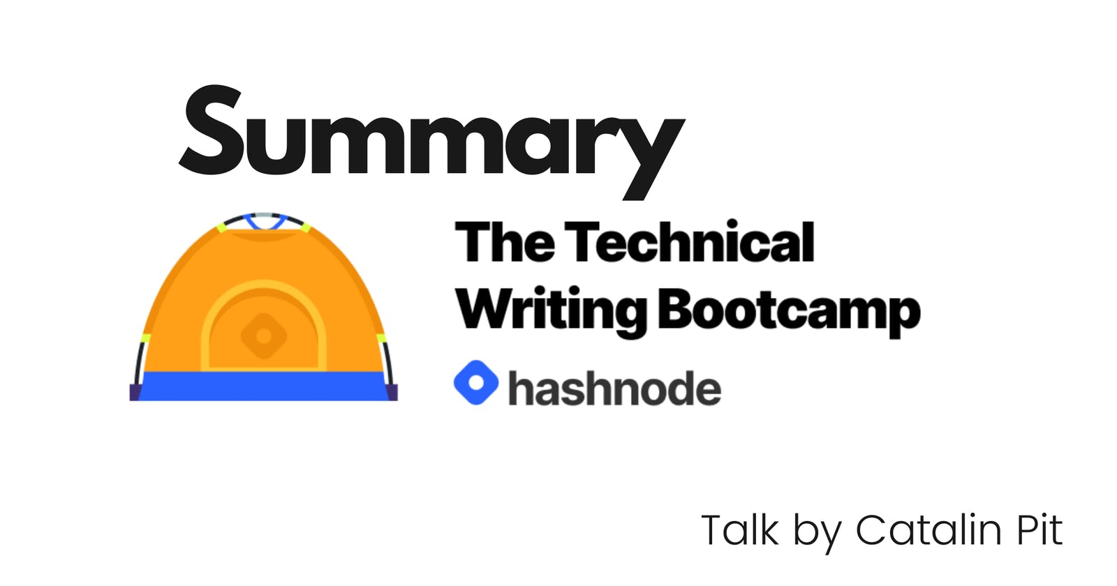 Hashnode Technical Writing Bootcamp