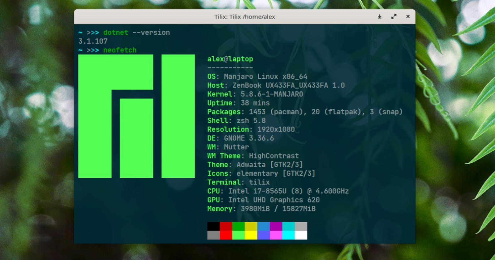 How to install .NET Core SDK with ASP.NET on Manjaro Linux