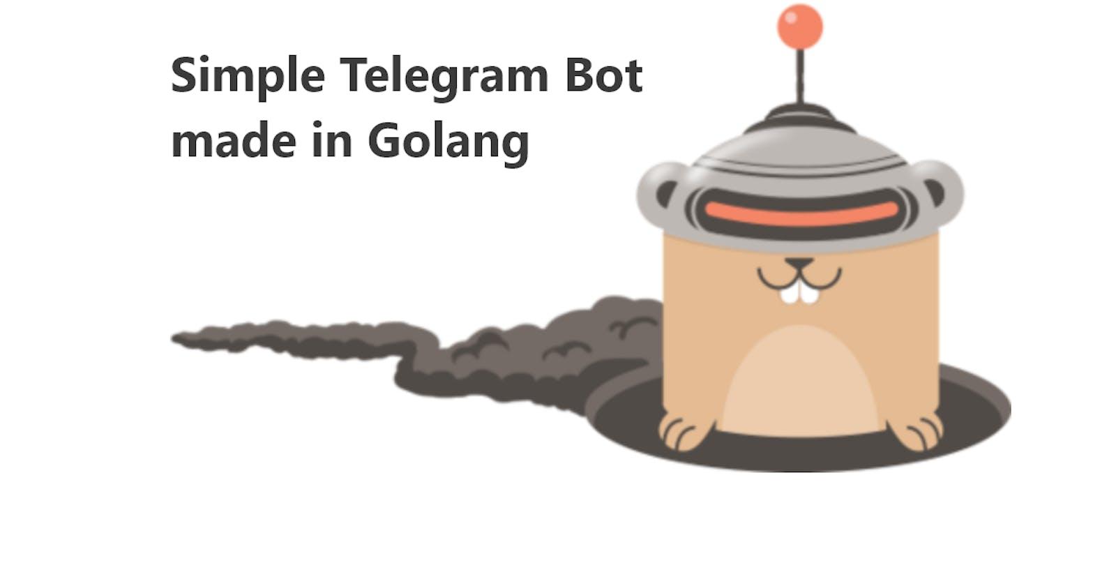 Make a Compliment Telegram Bot in Golang