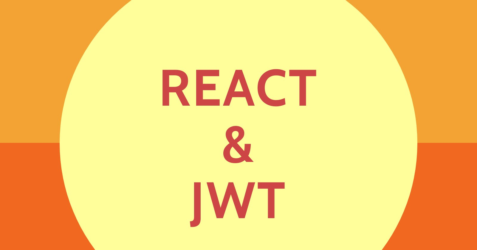 React & JWT Authentication - the right way!
