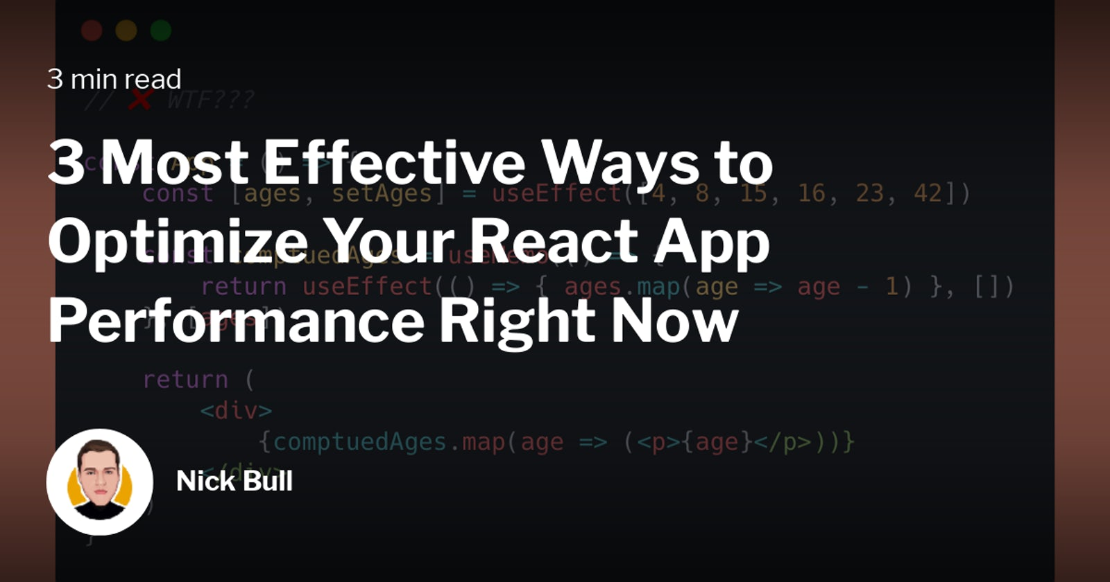 3 Most Effective Ways to Optimize Your React App Performance Right Now