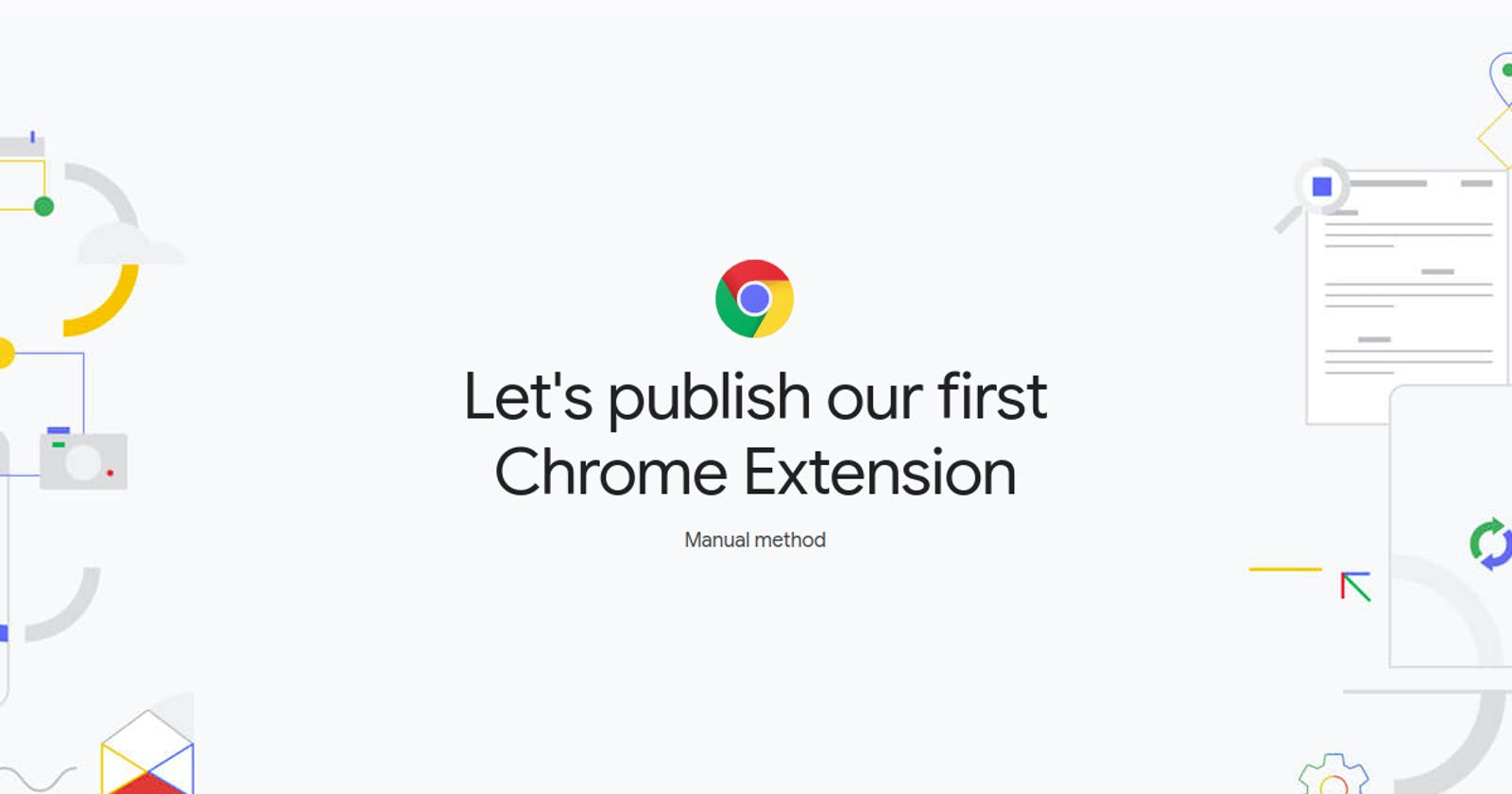 How to publish your Chrome Extension
