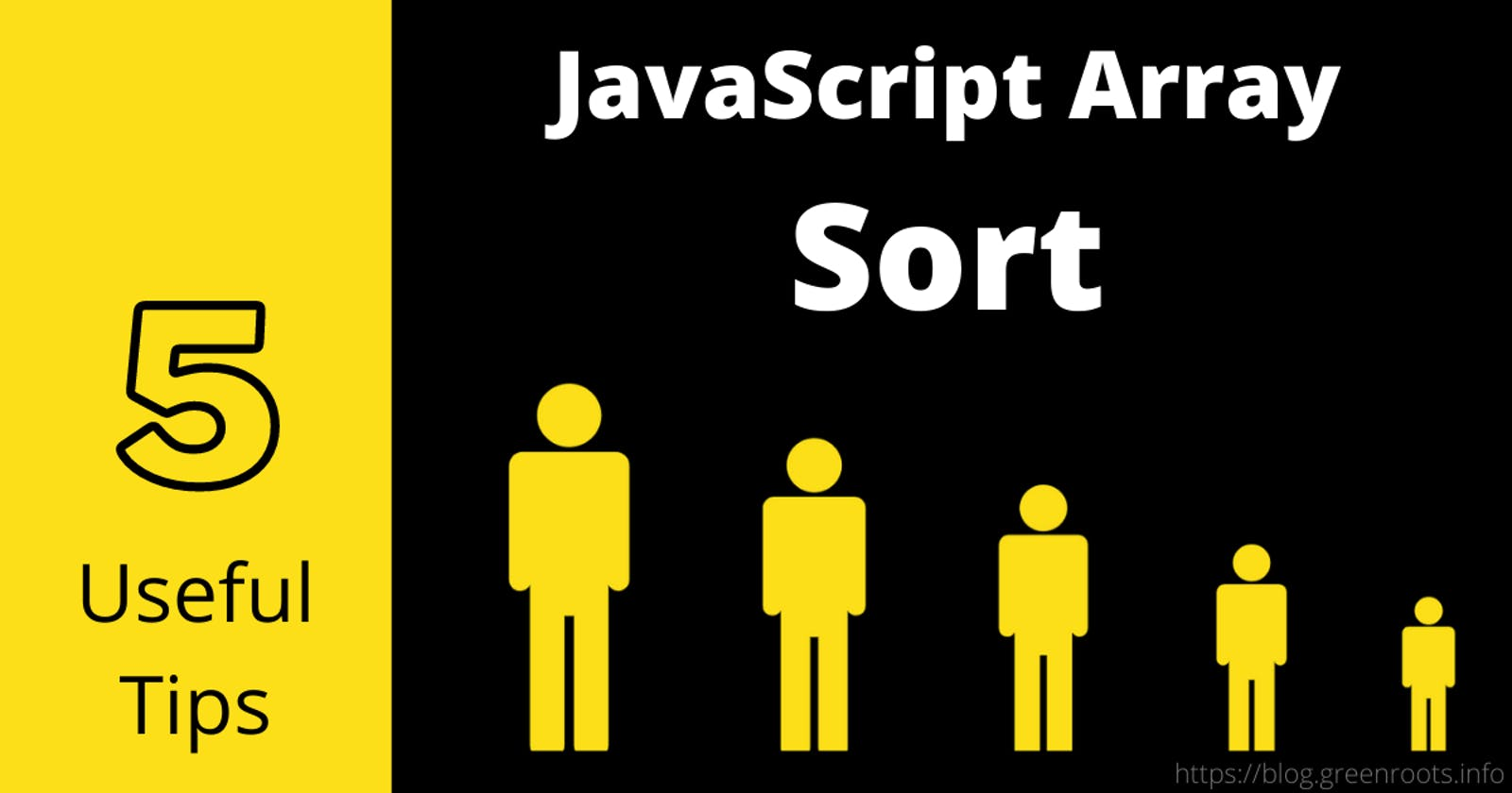5 useful tips about the JavaScript array sort method