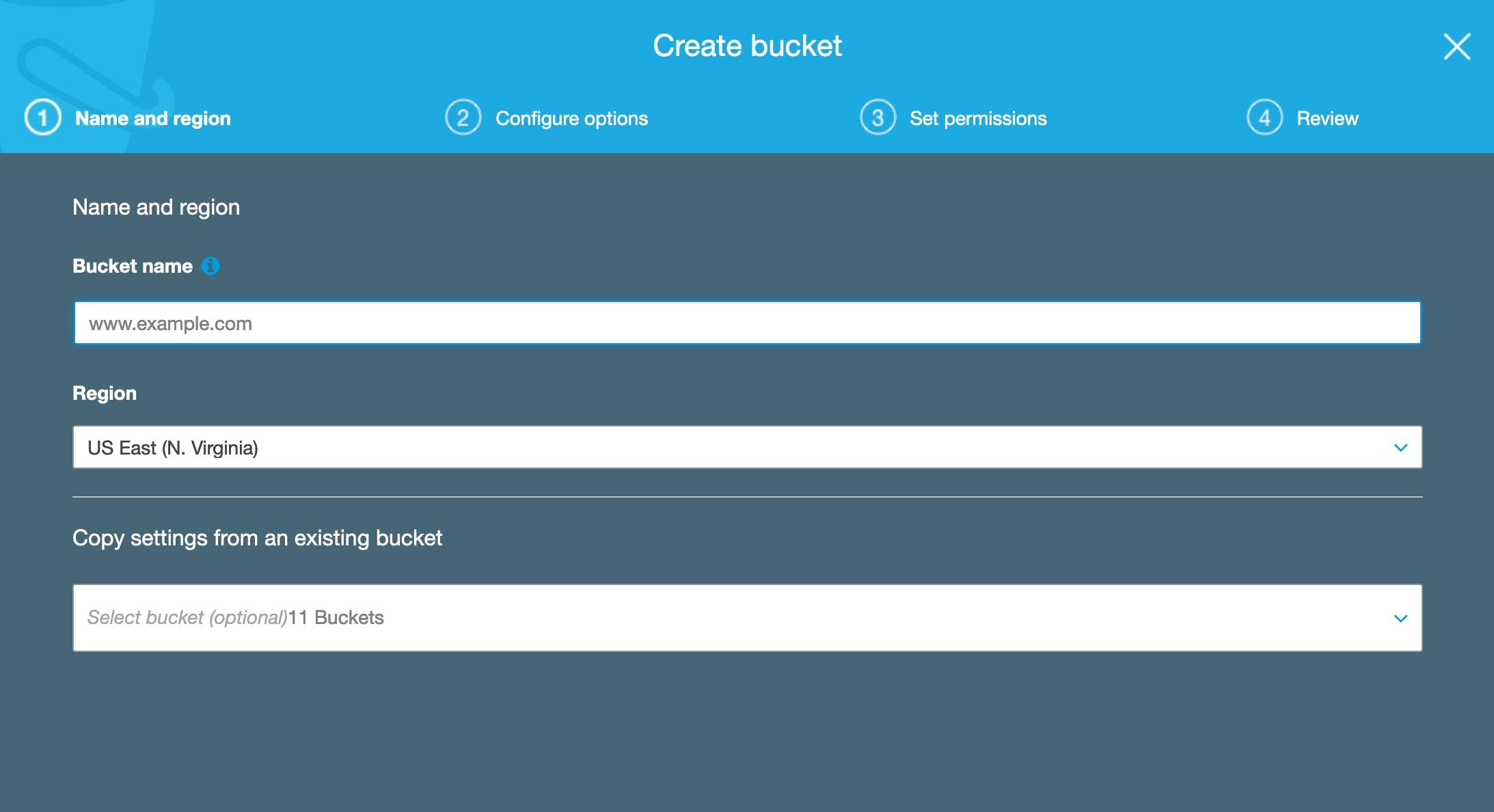 S3 Bucket Creation