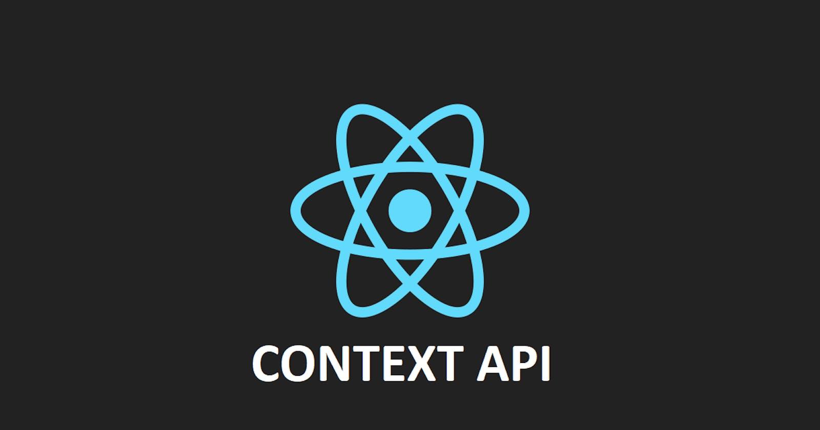 Understanding React Context API