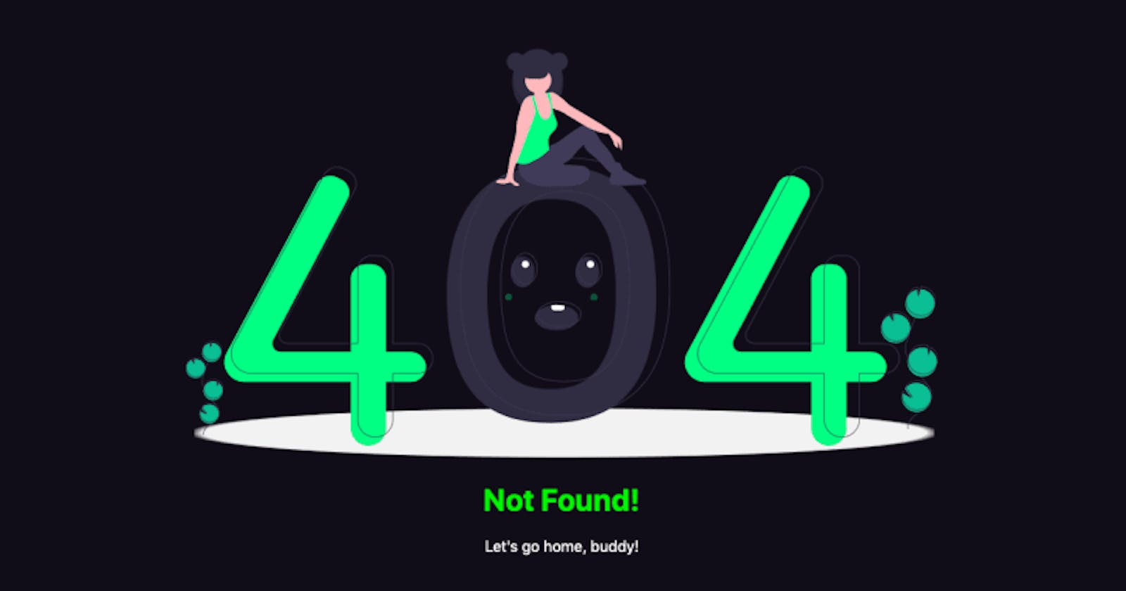 Create a custom 404 page for your Vue 2 app