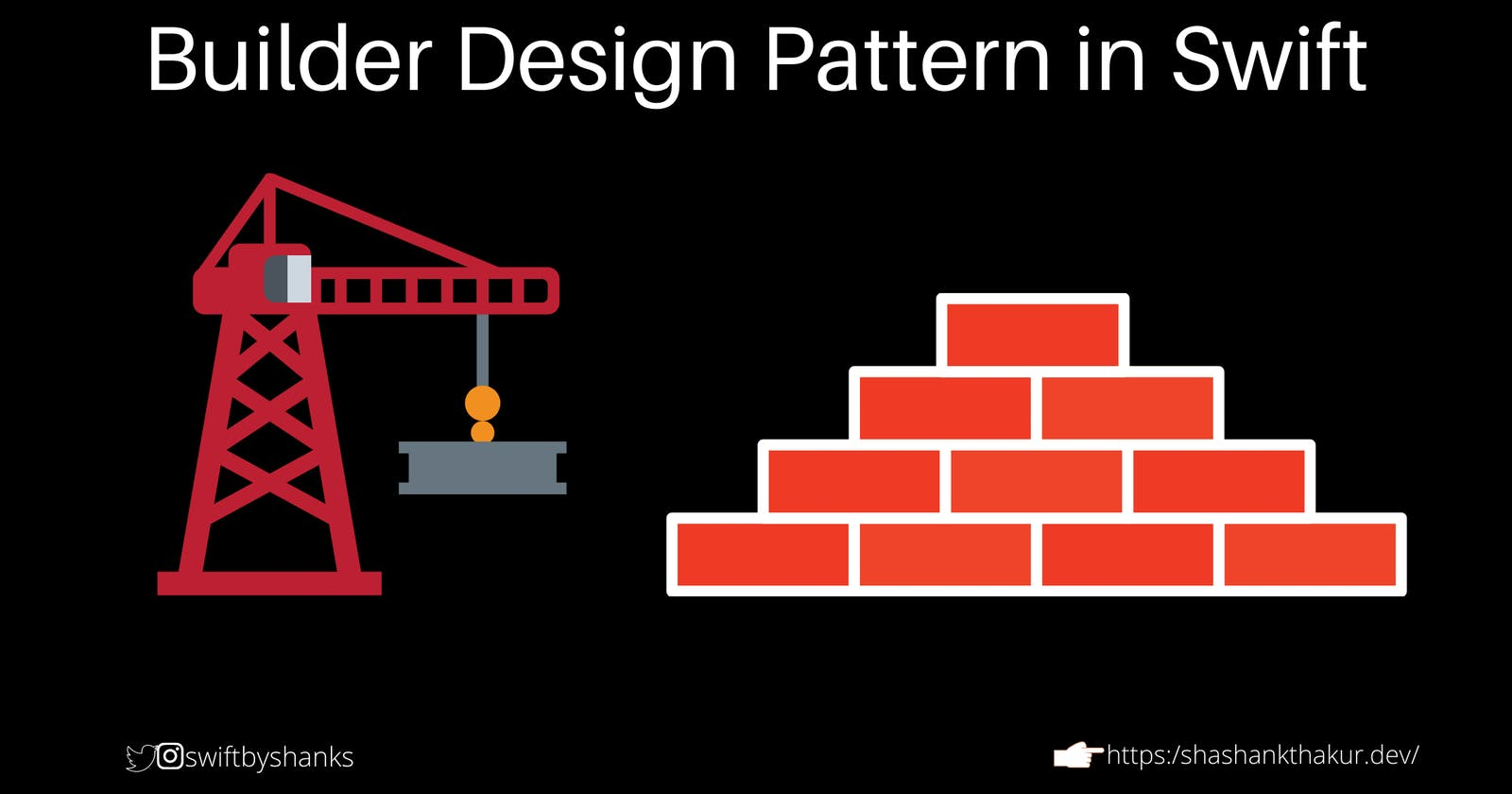 How to use Builder Design Pattern In Swift