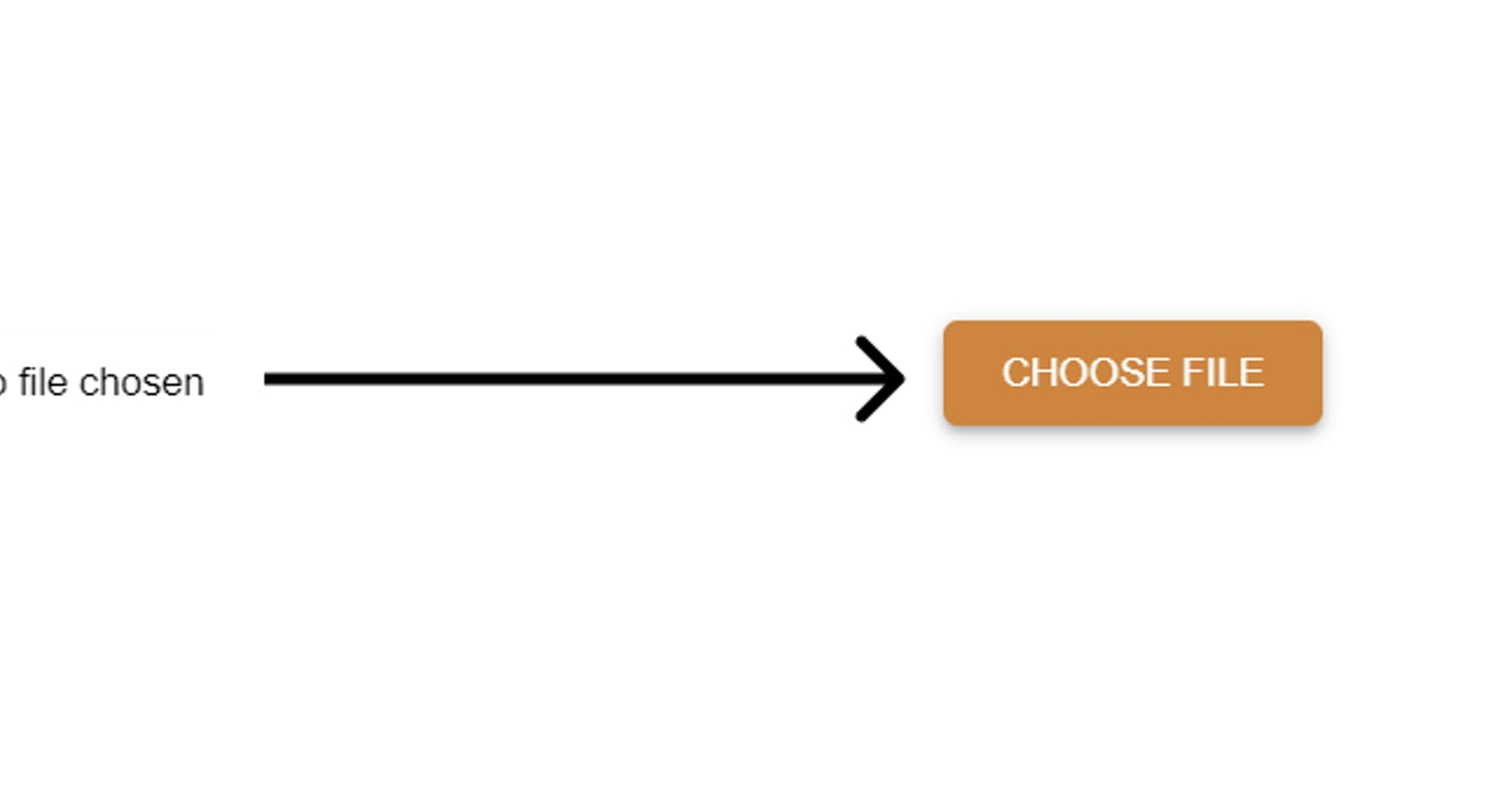 Custom file upload button
